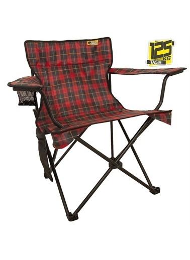 Funky Chairs Funky Chairs V2 Scottish Lüks Kamp Sandalyesi  Kırmızı